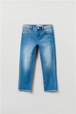 OVS παιδικό τζην παντελόνι πεντάτσεπο με στρας  (3-10 ετών)
