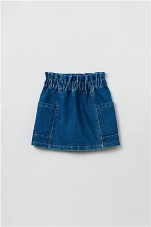 OVS παιδική denim φούστα με τσέπες στο πλάι (3-10 ετών)
