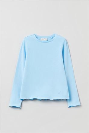 OVS παιδική μπλούζα μονόχρωμη (3-10 ετών)