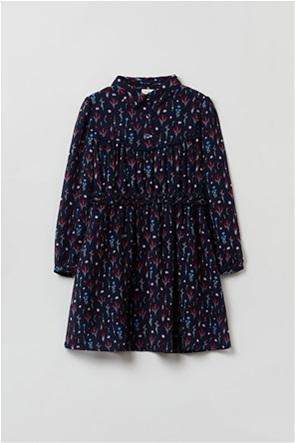 OVS παιδικό φόρεμα με all-over floral print (3-10 ετών)