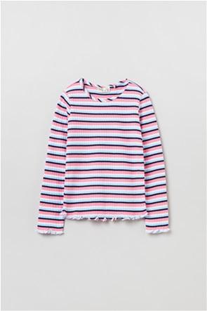 OVS παιδική μπλούζα με ριγέ σχέδιο (3-10 ετών)