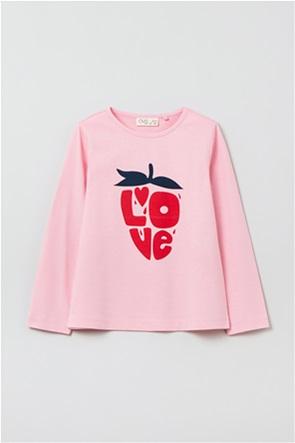 OVS παιδική μπλούζα με letter print (3-10 ετών)