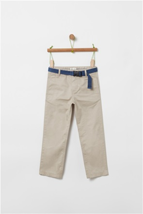 OVS παιδικό παντελόνι με ζώνη (4-10 ετών)