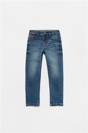 OVS παιδικό τζην παντελόνι πεντάτσεπο με όψη ξεβαμμένου (3-10 ετών)