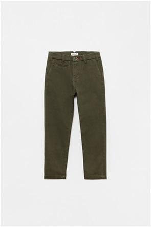 OVS παιδικό chino παντελόνι μονόχρωμο  (3-10 ετών)