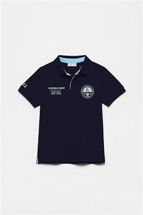 OVS παιδική πόλο μπλούζα με print (3-10 ετών)