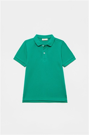 OVS παιδική πόλο μπλούζα μονόχρωμη (3-10 ετών)