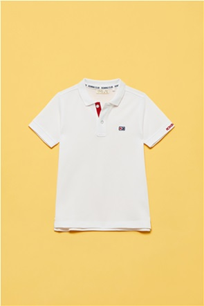 OVS παιδική πόλο μπλούζα με flag patch (3-10 ετών)