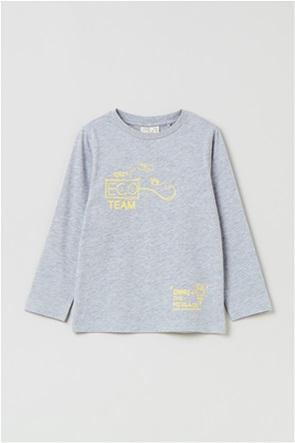 OVS παιδική μπλούζα με lettering (3-10 ετών)