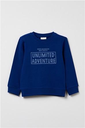 OVS παιδική μπλούζα φούτερ με στρογγυλή λαιμόκοψη (3-10 ετών)