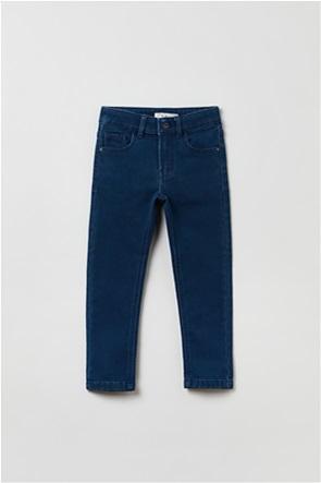 OVS παιδικό τζην παντελόνι πεντάτσεπο Slim-Fit (3-10 ετών)
