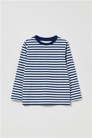 OVS παιδική μπλούζα με ρίγες (3-10 ερών)
