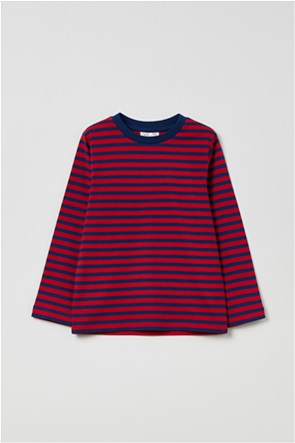 OVS παιδική μπλούζα με ρίγες (3-10 ετών)