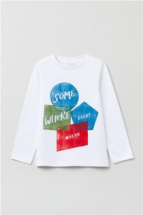 OVS παιδική μπλούζα με graphic print (3-10 ετών)