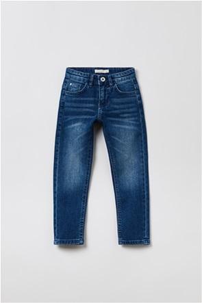 OVS παιδικό τζην παντελόνι ελαστικό (3-10 ετών)