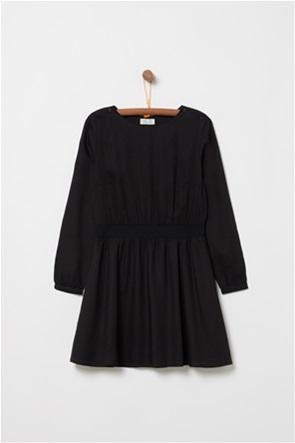 OVS παιδικό mini φόρεμα μονόχρωμο με λάστιχο στην μέση (9-14 ετών)