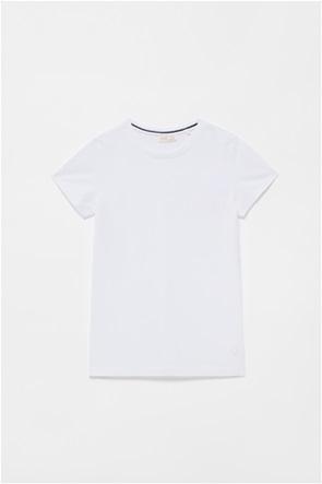OVS παιδικό T-shirt με κεντημένο λογότυπο (10-15 ετών)