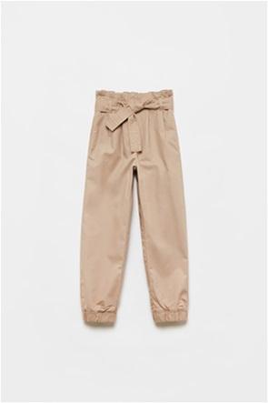 OVS παιδικό παντελόνι με ελαστική μέση και ζώνη (10-15 ετών)