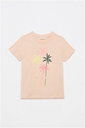 OVS παιδικό T-shirt με palms trees print (10-15 ετών)