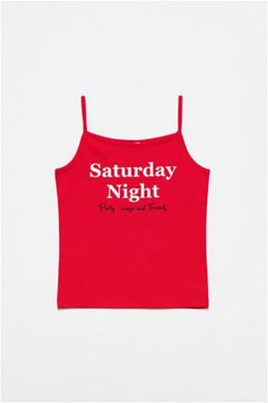 OVS παιδική μπλούζα με lettering (10-15 ετών)