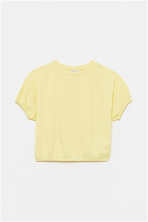OVS παιδική μπλούζα με glitter print στην πλάτη (10-15 ετών)
