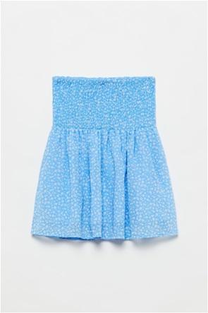OVS παιδική φούστα floral με λάστιχο σφηκοφωλιά (10-15 ετών)