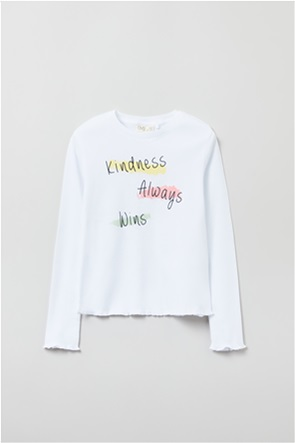 OVS παιδική μπλούζα με letter print (10-15 ετών)