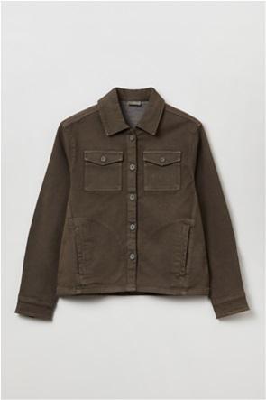 OVS παιδικό denim jacket με flap τσέπες (10-15 ετών)