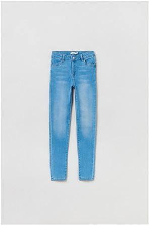 OVS παιδικό τζην παντελόνι πεντάτσεπο Skinny-fit (10-15 ετών)