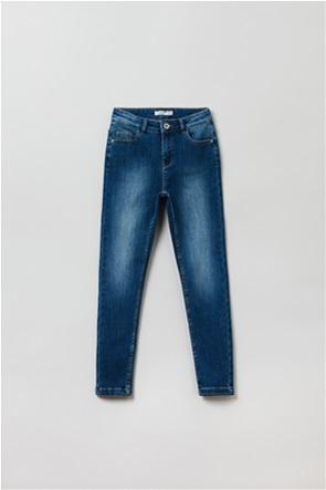OVS  παιδικό τζην παντελόνι πεντάτσεπο ξεβαμμένο (10-15 ετών)