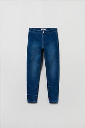 OVS παιδικό τζην παντελόνι φθαρμένο Skinny-fit  (10-15 ετών)