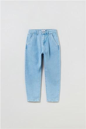 OVS παιδικό τζην παντελόνι Mum-fit (10-15 ετών)