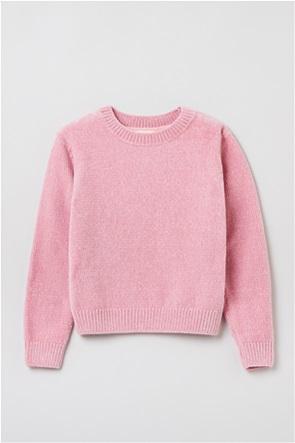 OVS παιδική μπλούζα πλεκτή μονόχρωμη (10-15 ετών)