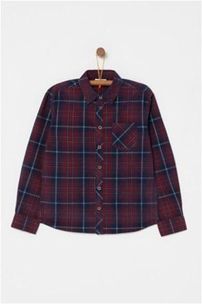 OVS παιδικό καρό πουκάμισο με μία τσέπη (9-14 ετών)