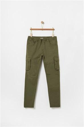 OVS παιδικό παντελόνι cargo πεντάτσεπο (10-15 ετών)