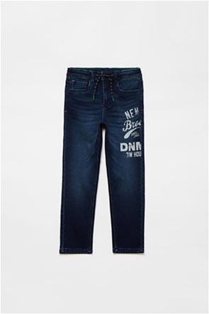 OVS παιδικό τζην παντελόνι με letter print (10-15 ετών)