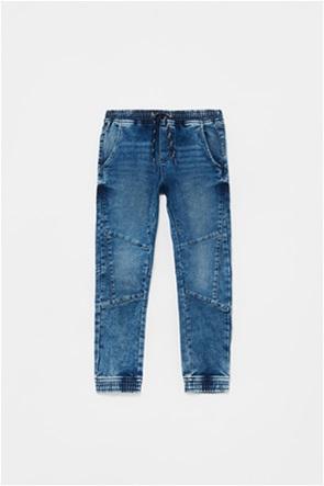 OVS παιδικό τζην παντελόνι με λάστιχο στη μέση (10-15 ετών)