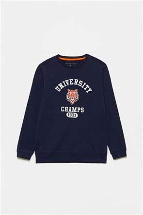 OVS παιδική μπλούζα φούτερ με graphic print (10-15 ετών)