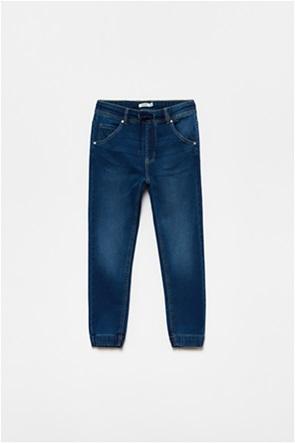 OVS παιδικό τζην παντελόνι με ελαστική μέση πεντάτσεπο (10-15 ετών)