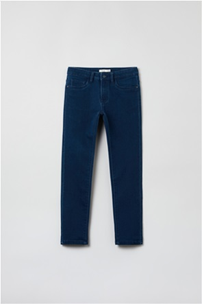 OVS παιδικό τζην παντελόνι πεντάτσεπο Slim-fit (10-15 ετών)