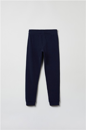 OVS παιδικό παντελόνι φόρμας μονόχρωμο Regular-fit  (10-15 ετών)