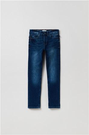 OVS παιδικό τζην παντελόνι ξεθωριασμένο Slim-Fit (10-15 ετών)