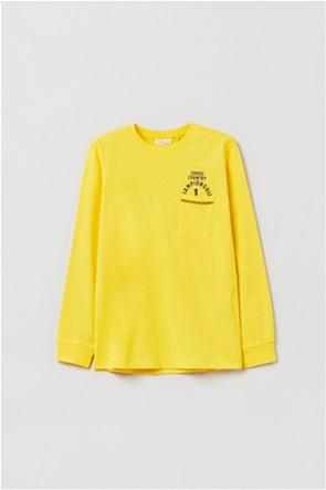 OVS παιδική μπλούζα μακρυμάνικη με flap τσέπη (10-15 ετών)