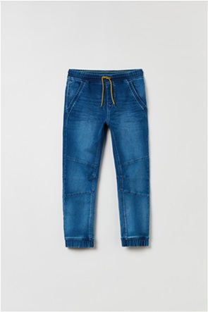 OVS παιδικό τζην παντελόνι με ελαστική μέση (10-15 ετών)