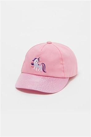 OVS βρεφικό καπέλο jockey με unicorn κέντημα