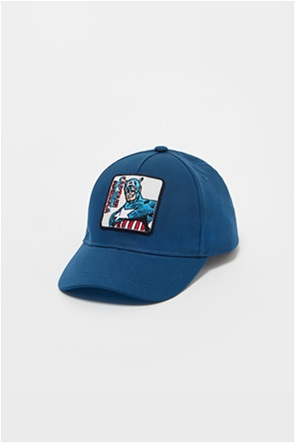 OVS παιδικό καπέλο jockey με Captain America print