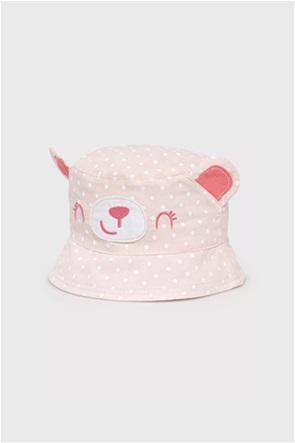 OVS παιδικό καπέλο πουά με αυτάκια