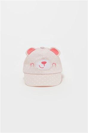 OVS βρεφικό καπέλο με σχέδιο αρκουδάκι (9-36 μηνών)