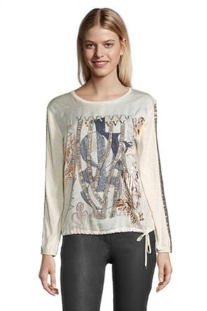 Betty Barclay γυναικεία μπλούζα με διακοσμητικές χάντρες