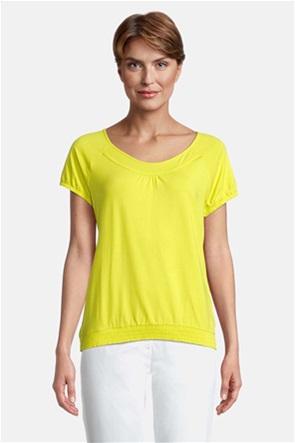 Betty Barclay γυναικεία μπλούζα με λάστιχο στο τελείωμα